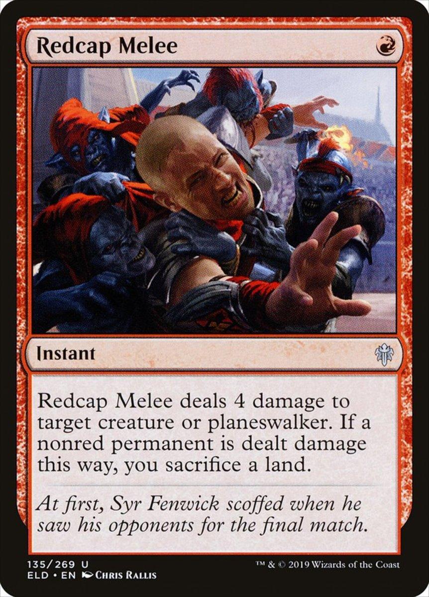 Redcap Melee mtg