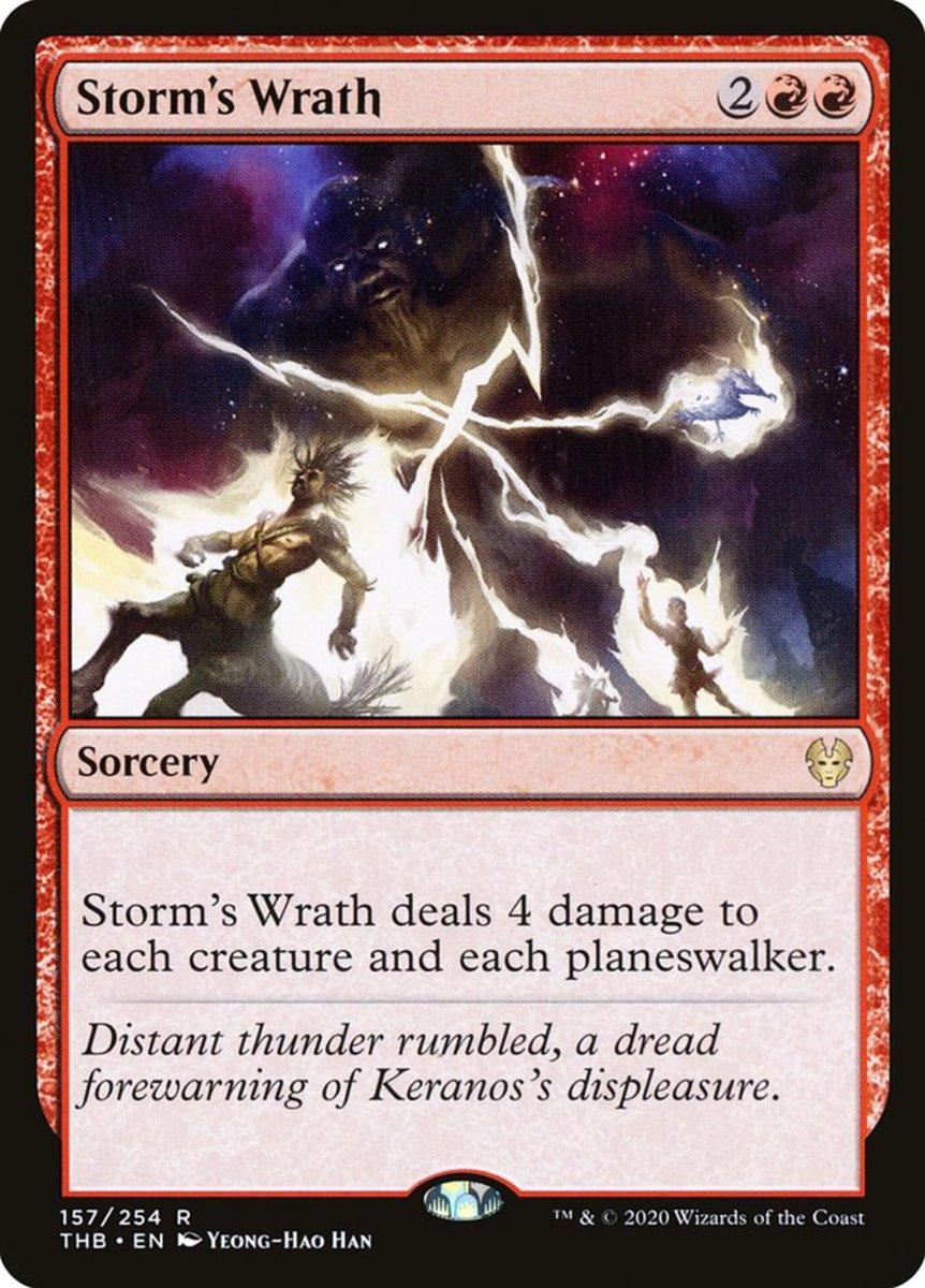 Storm's Wrath mtg