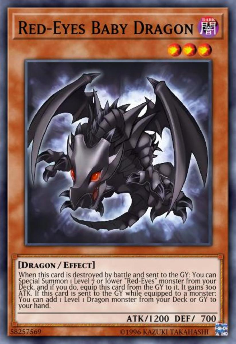 Red-Eyes Baby Dragon