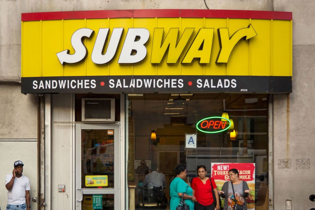 In 1965, the first Subway sandwich shop opened in Bridgeport, Connecticut.