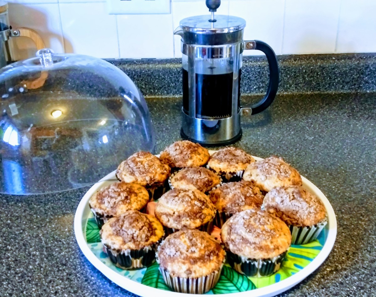 Healthy infused muffins start my day off right.  This batch contains about 10mg of CBD in each muffin.