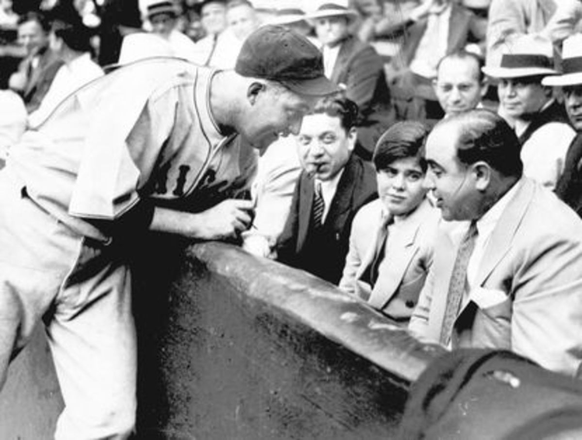 Capone at a Baseball Game