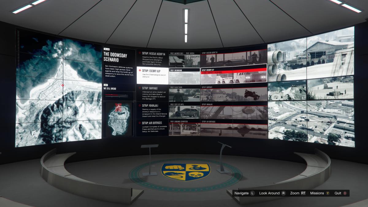 Overview screen for Escort ULP.