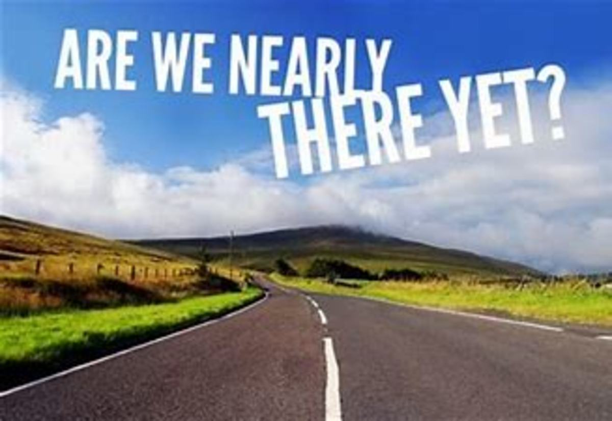 Are We Nearly There Yet