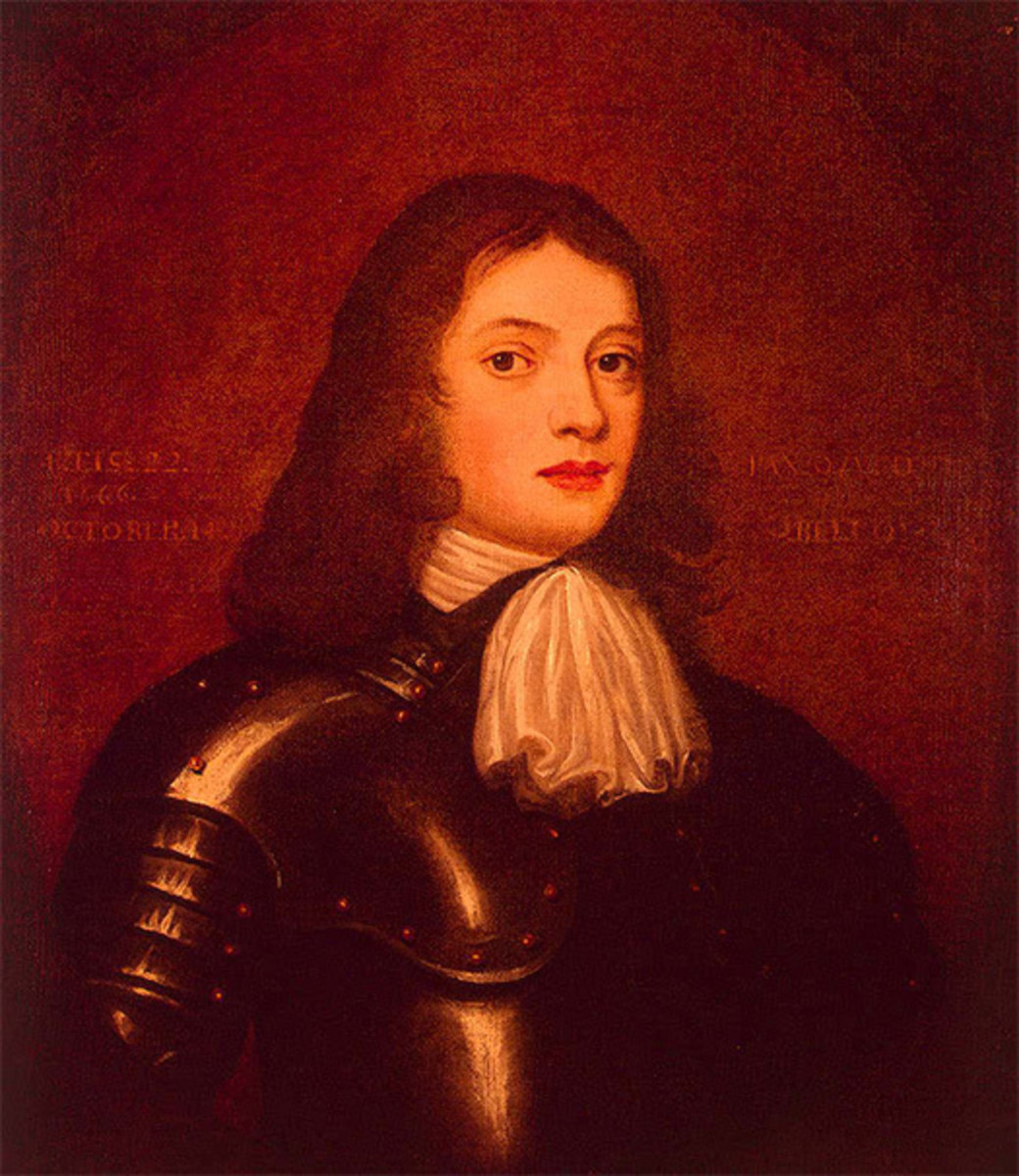 William Penn at age 22 in 1666. Oil on canvas, eighteenth-century copy of a seventeenth-century portrait, possibly by Sir Peter Lely.