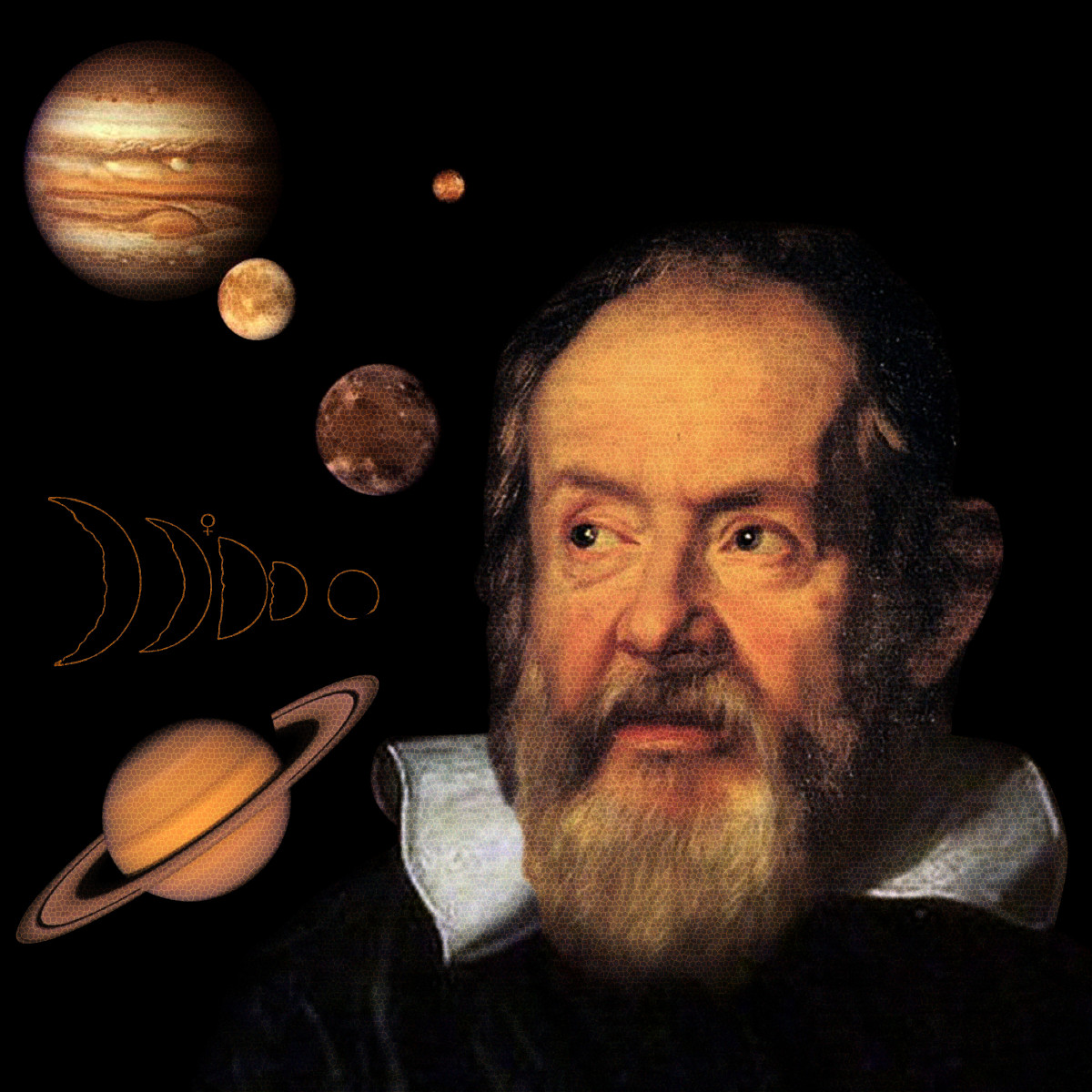 Galileo Galilei Discovers the Moons of Jupiter and the Phase of Venus