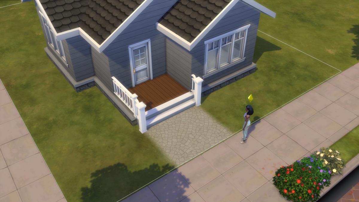 A basic porch.