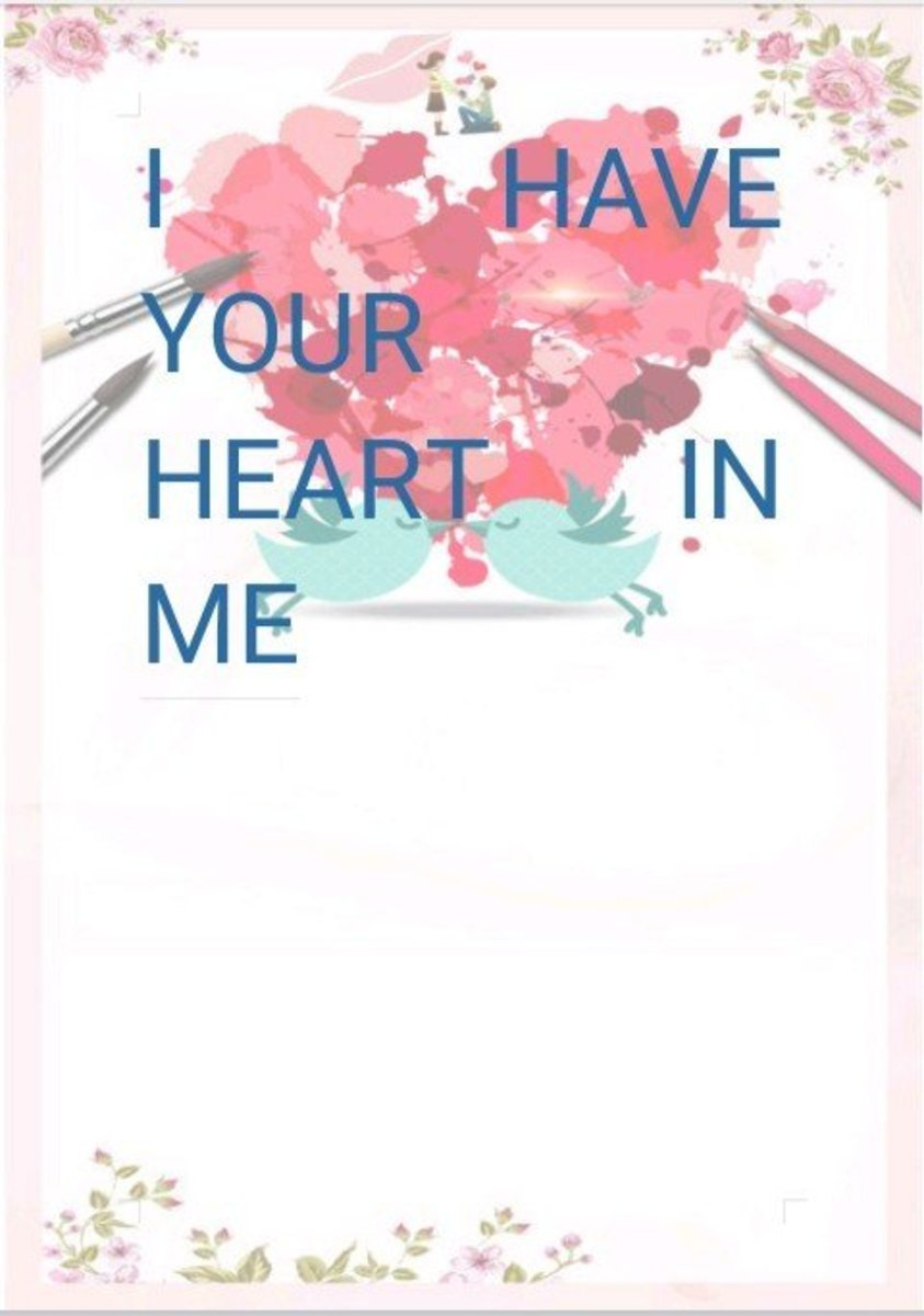 I Have Your Heart in Me