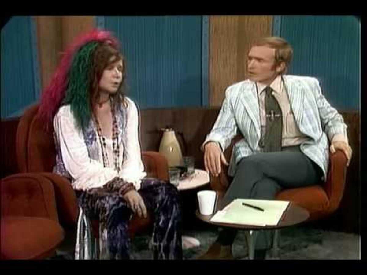 Janis Joplin with Dick Cavett