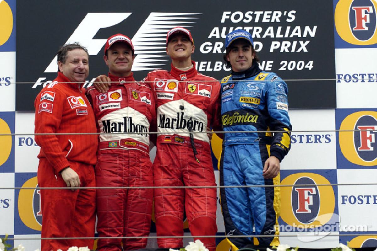 The 2004 Australian GP: Michael Schumacher's 71st Career Win