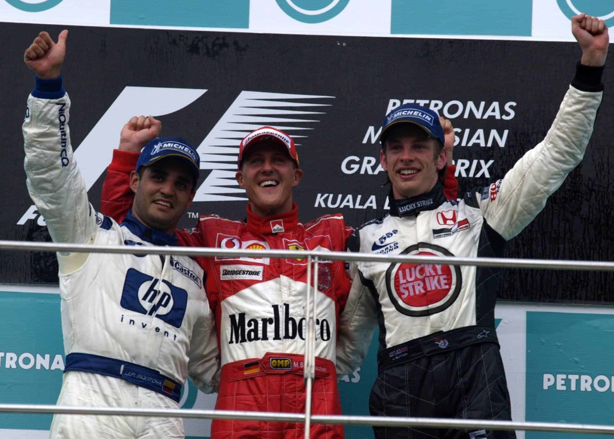 The 2004 Malaysian GP: Michael Schumacher's 72nd Career Win