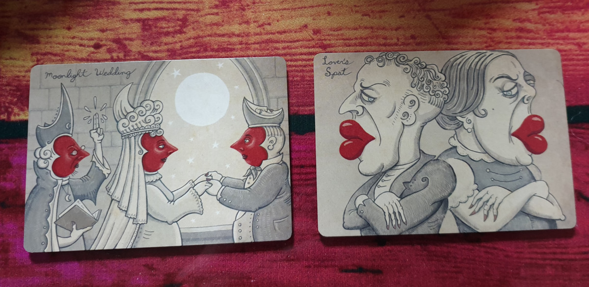 Three of Hearts & Two of Hearts