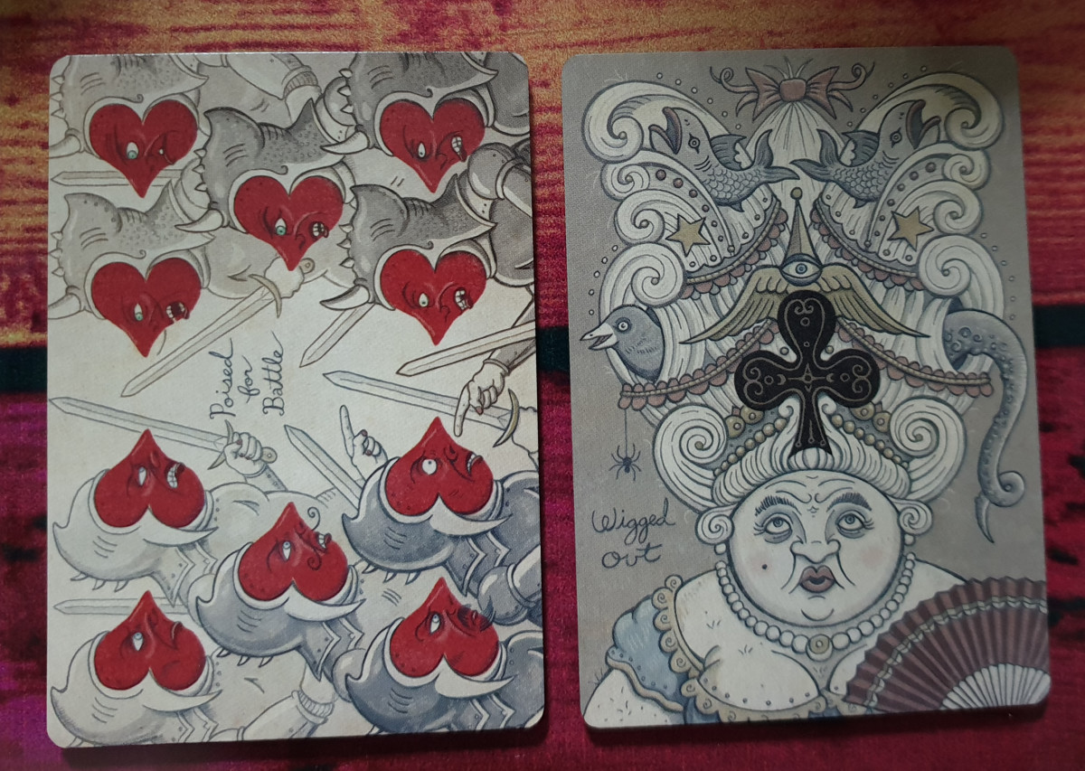Ten of Hearts & Ace of Clubs