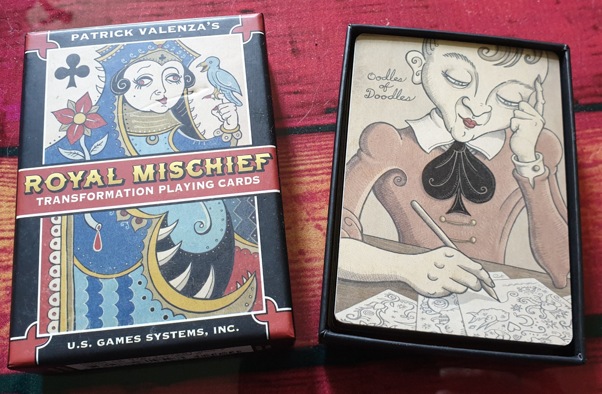 The Royal Mischief Transformative Playing Cards