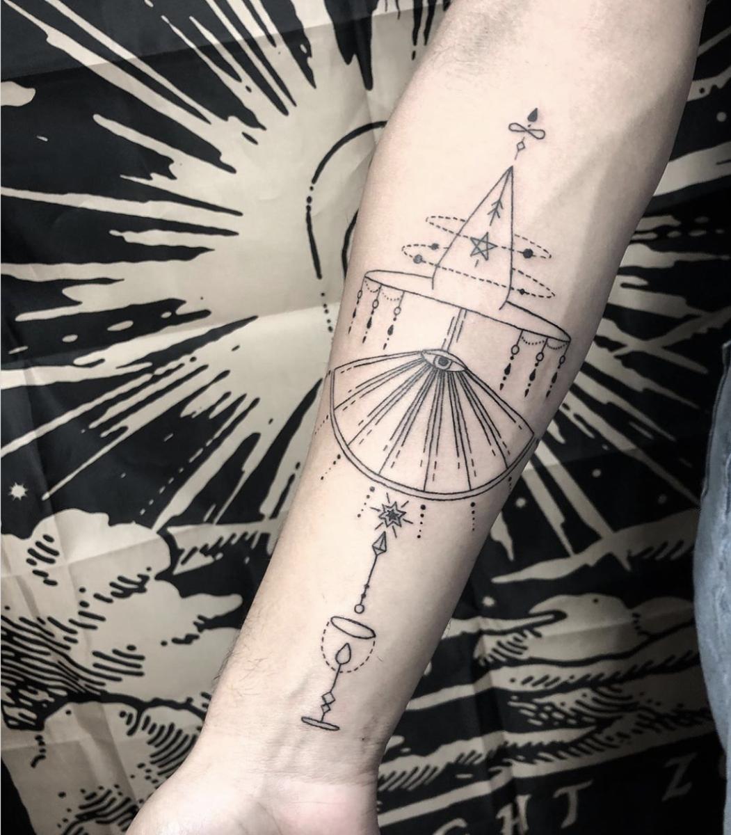 By Jax @jackieparanoia at 7 Souls Tattoo