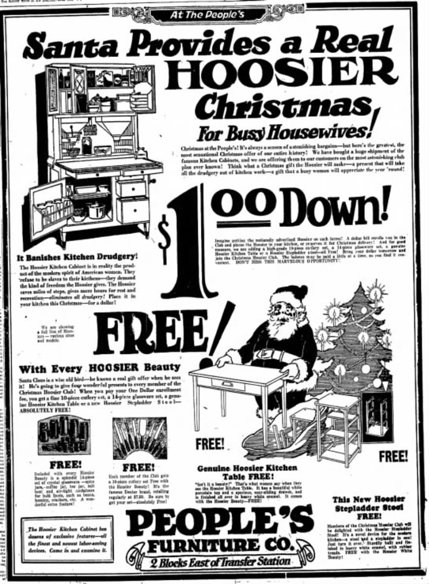 A homemaker in 1924 would be thrilled to get this for Christmas.