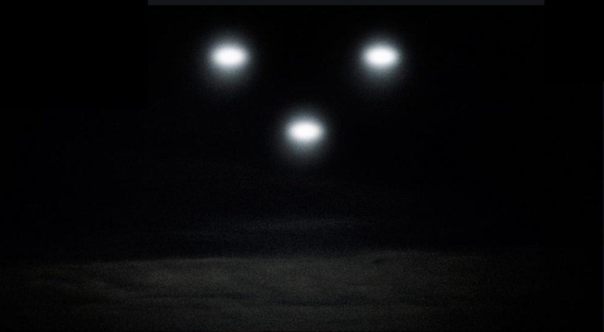Many family members and other residents began to see peculiar lights flying around the area.