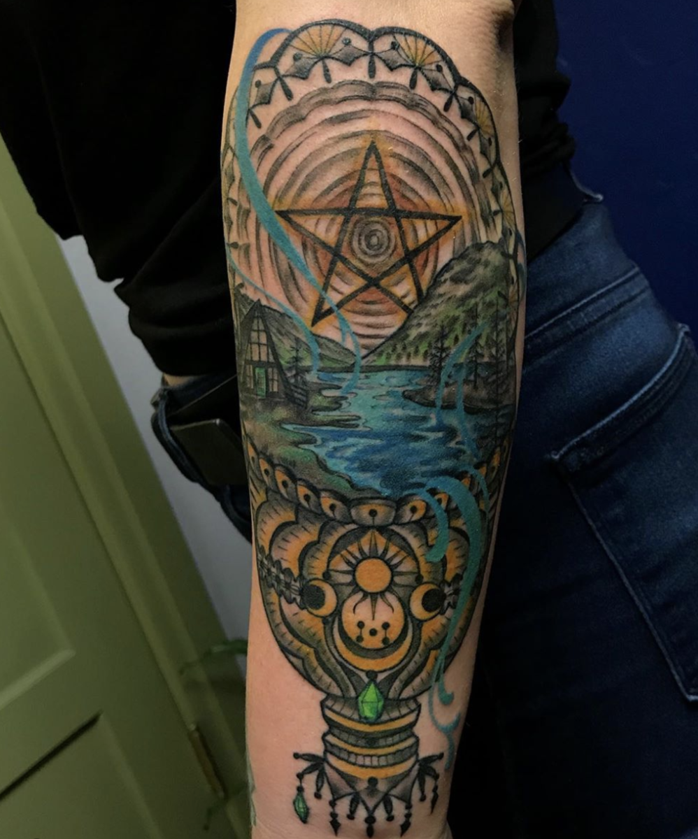 Tattoo by Amanda Marie  @amanda_marie_tattooer at aceofwandstattoo.com in Los Angeles, CA