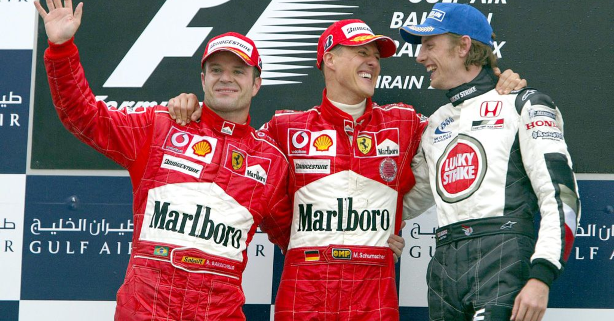 The 2004 Bahrain GP: Michael Schumacher's 73rd Career Win