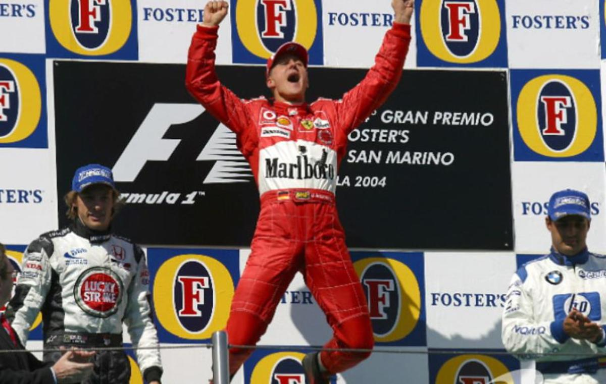 The 2004 San Marino GP: Michael Schumacher's 74th Career Win