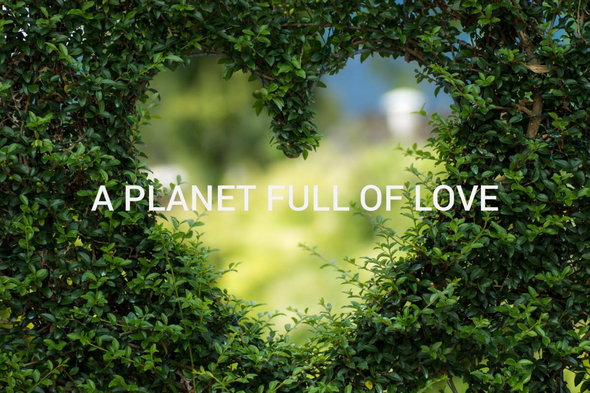 Planet full of love