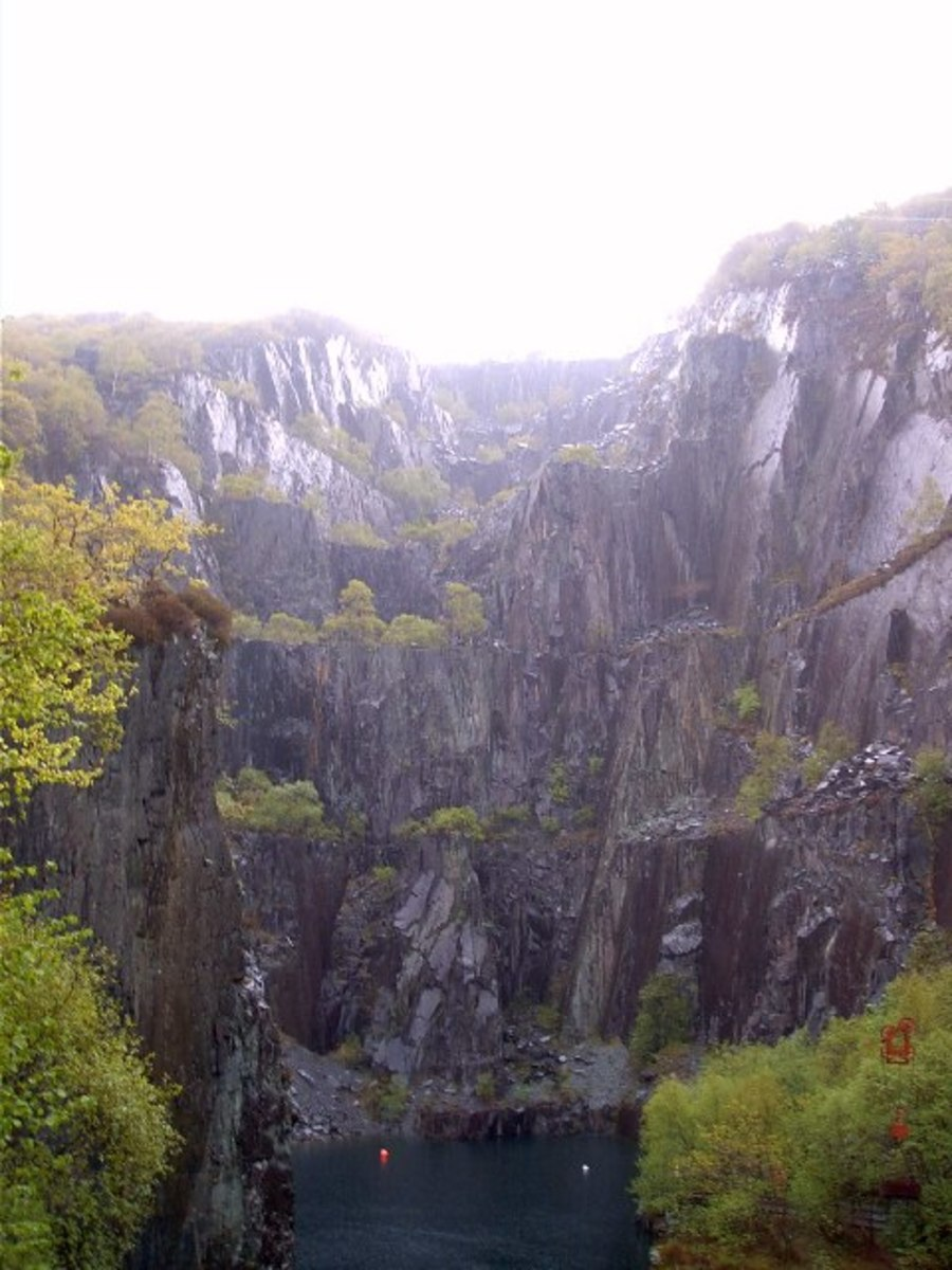 Dinorwic Quarry, Llanberis, North Wales