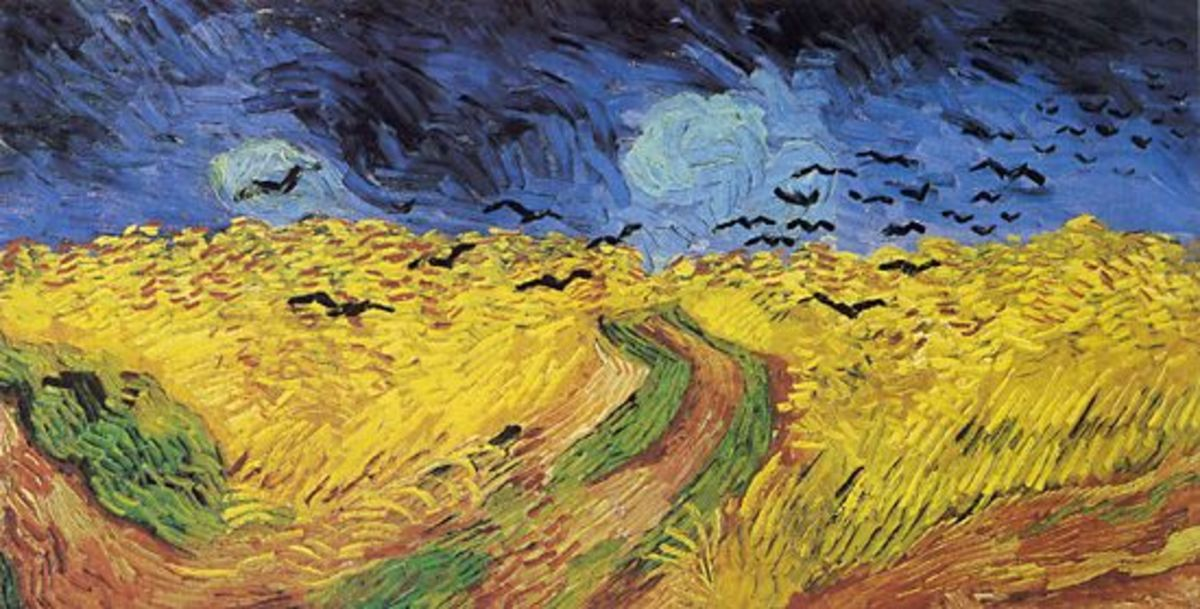 "Van Gogh's ""Crows over the Wheat Field"" certainly evokes a human response"