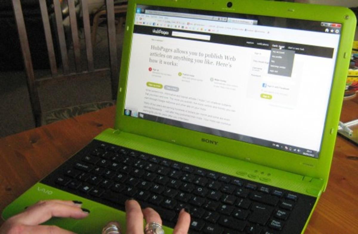 Earn money writing articles online
