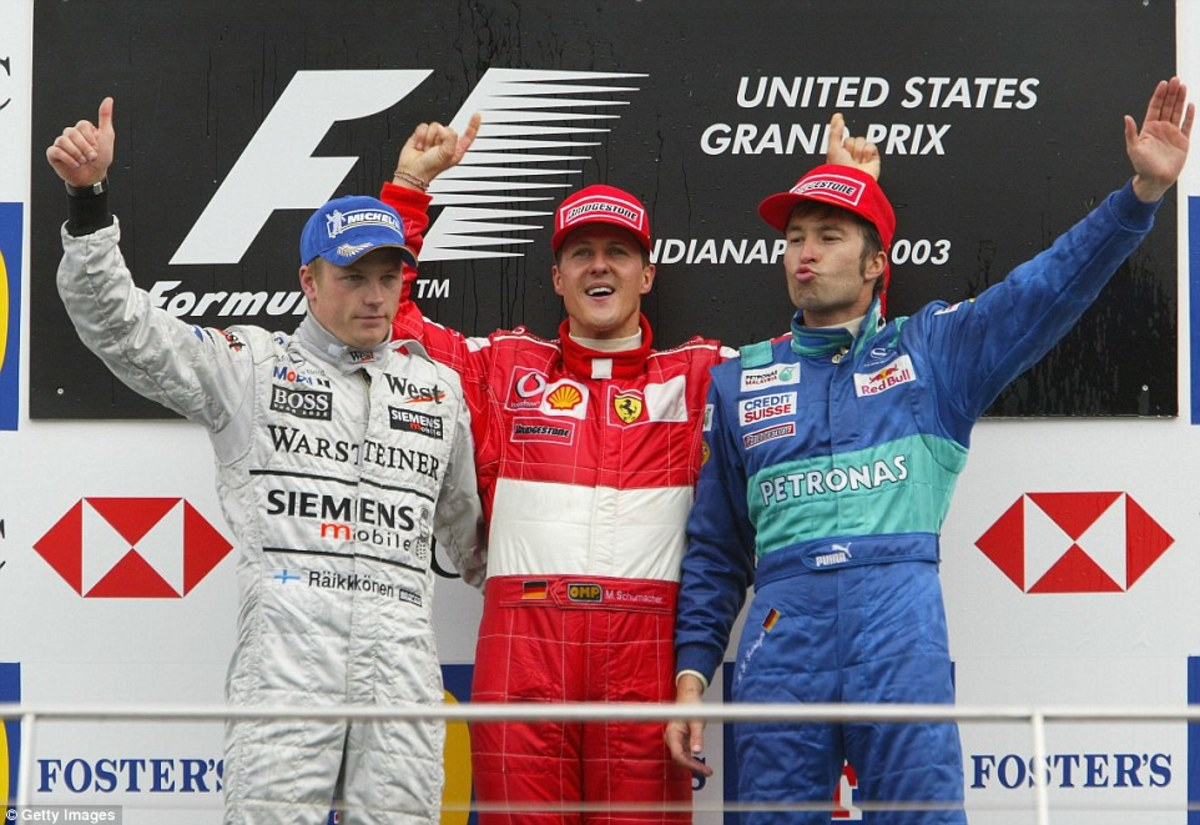 The 2003 United States GP: Michael Schumacher's 70th Win