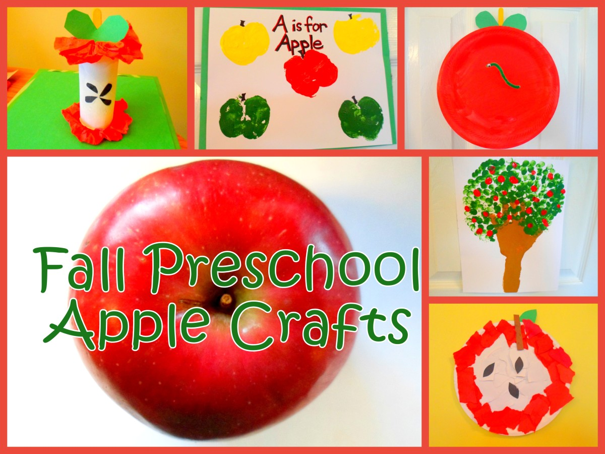 Fall Preschool Apple Craft Ideas Hubpages