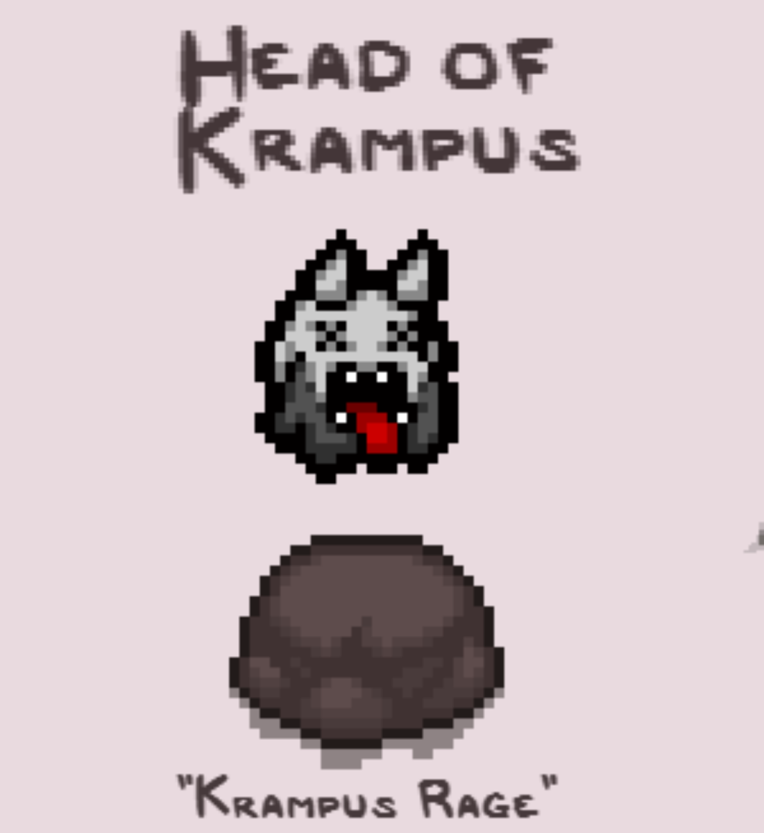 Head of Krampas