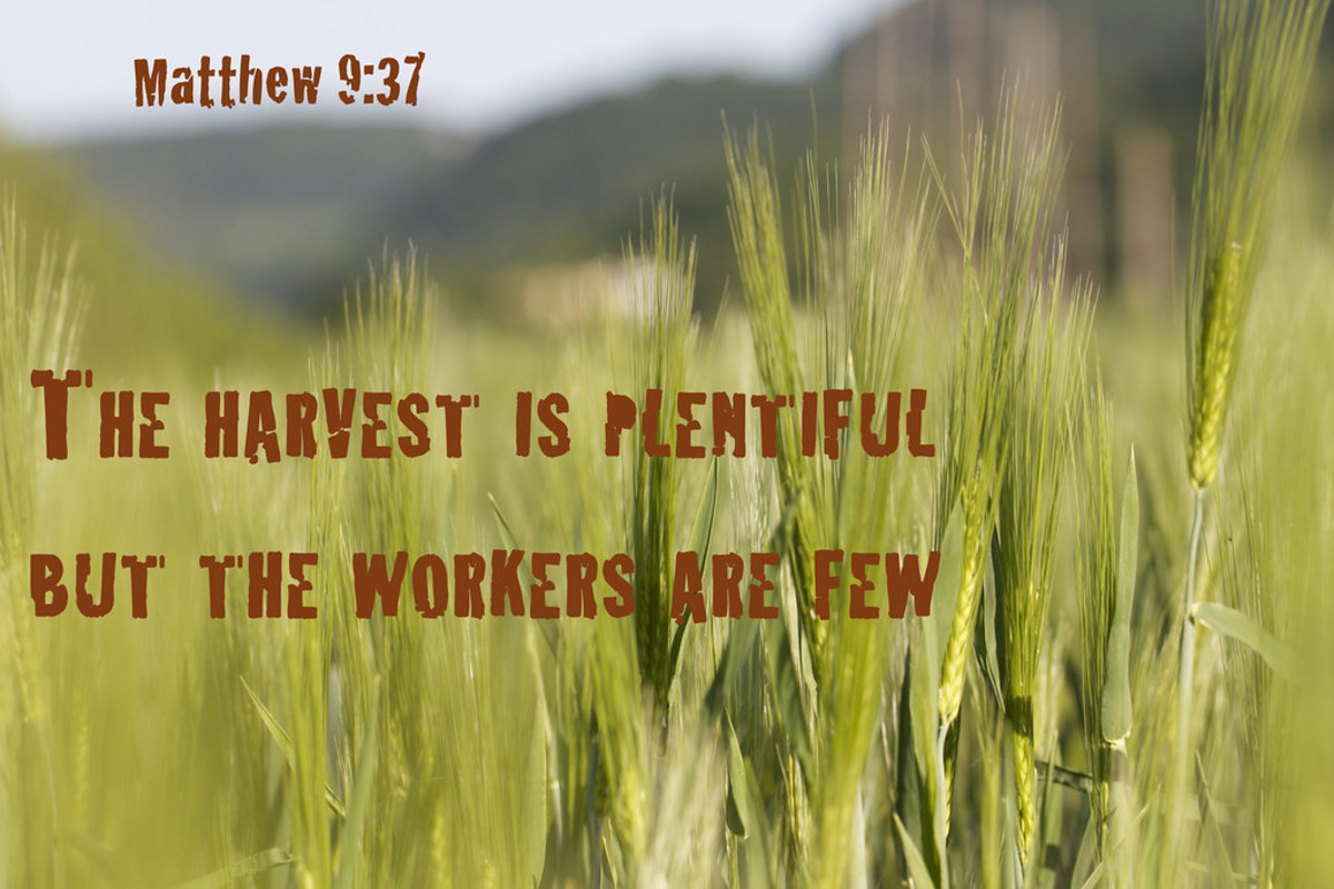 A Hymn: The Harvest Truly Is Plenteous, but the Labourers Are Few.
