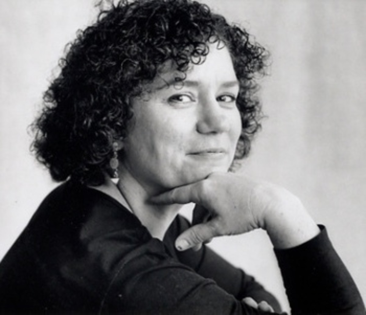 April Henry, the book's author
