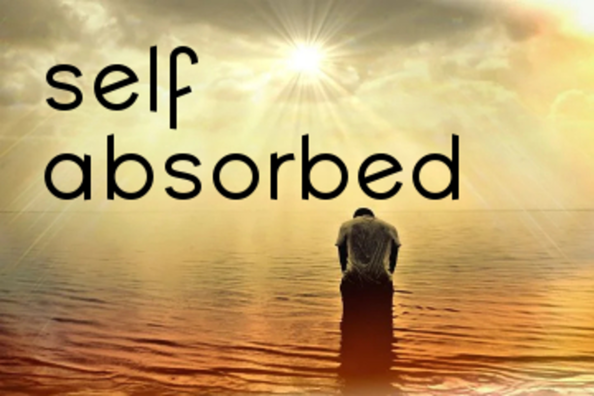 Poem: Self Absorbed