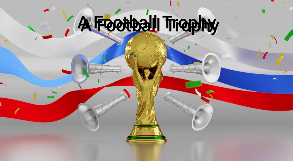 A Football Trophy