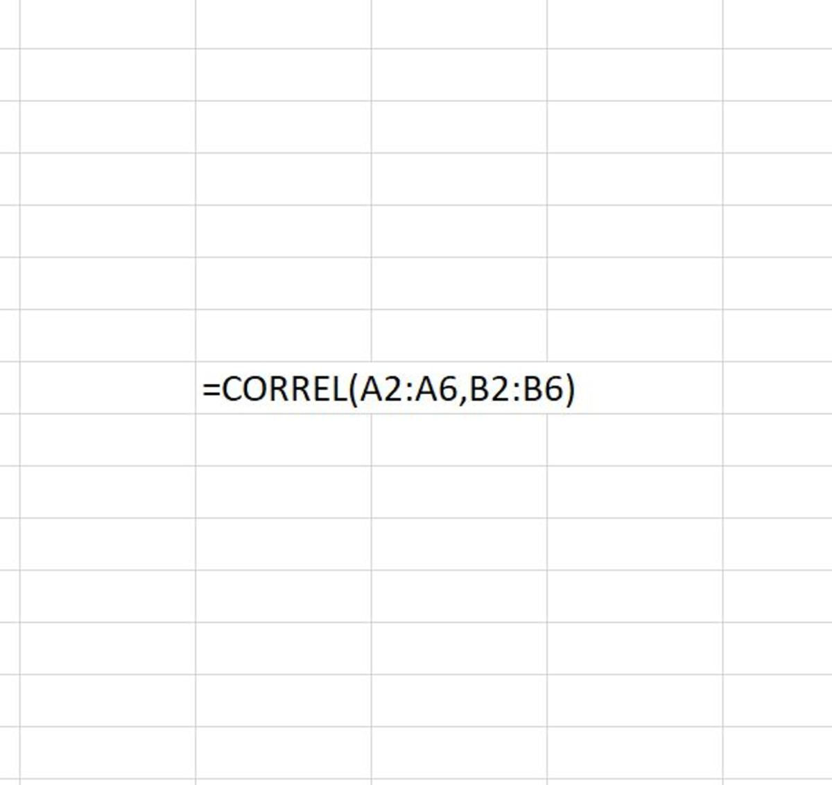How to Use the CORREL Function in Excel
