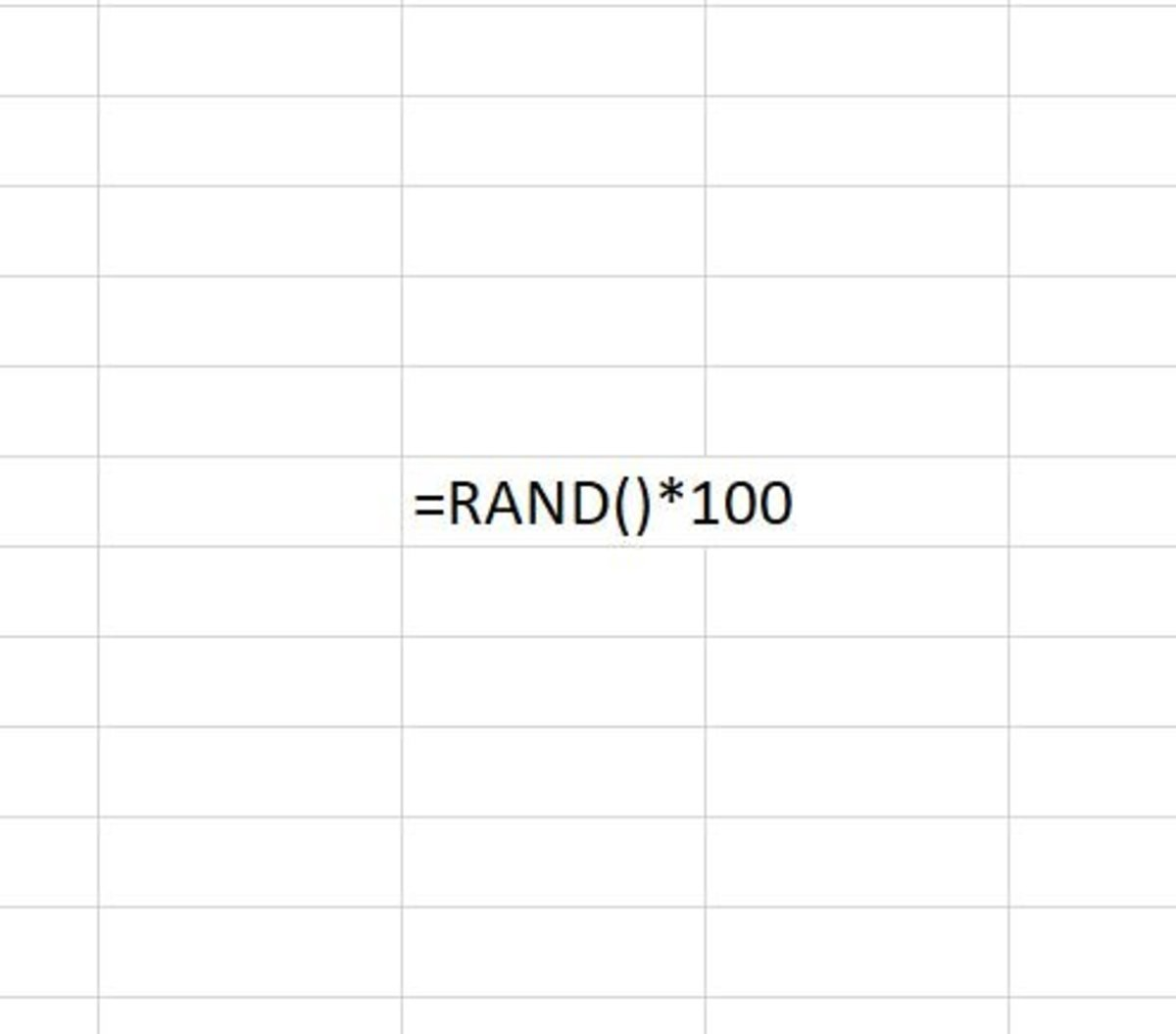 The RAND function returns a random number that is less than 1 and greater than or equal to zero.