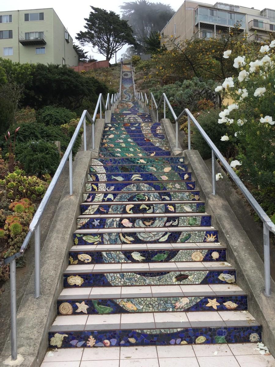 The Moraga Steps: A Hidden Tourist Attraction in San Francisco