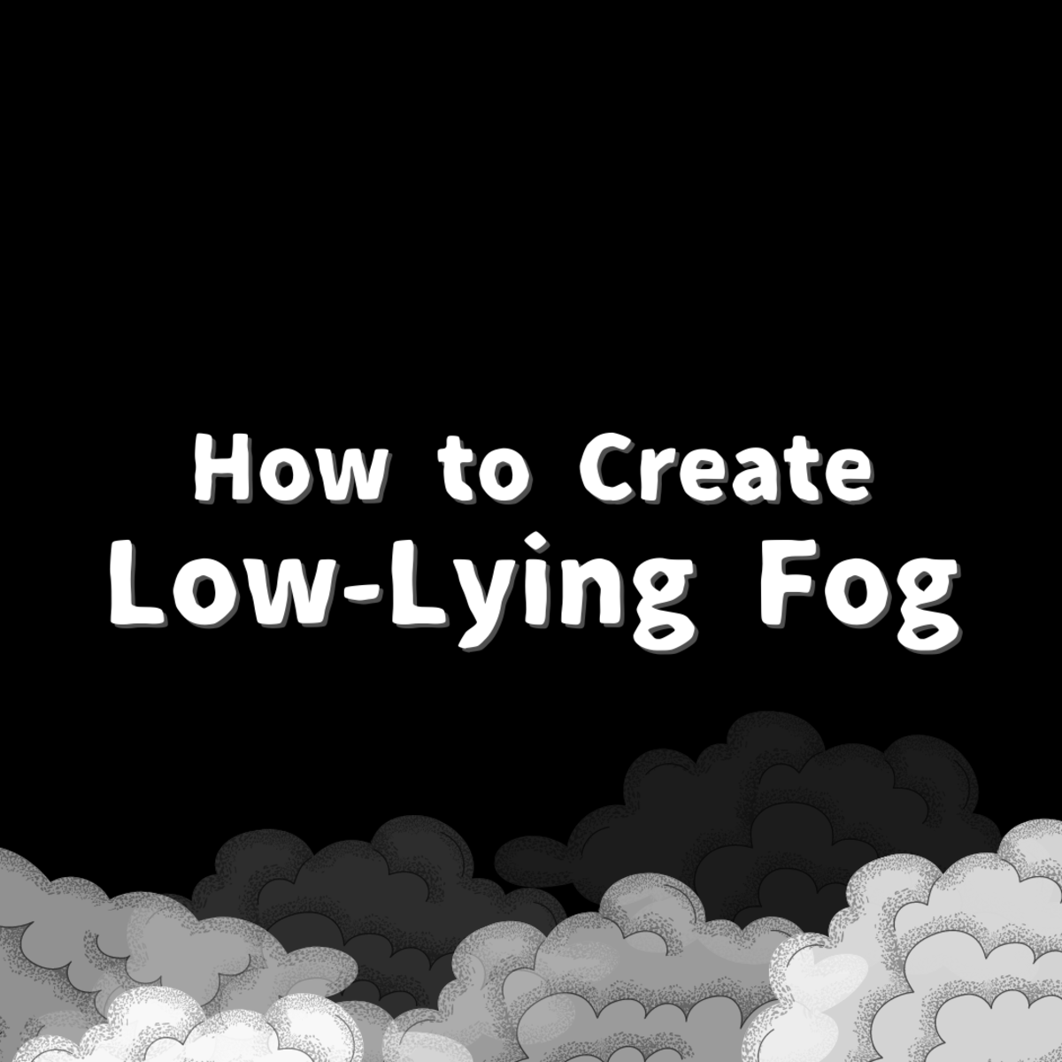 Creating ground fog with a fog machine is tricky, but there are some strategies you can use to ensure a good effect.