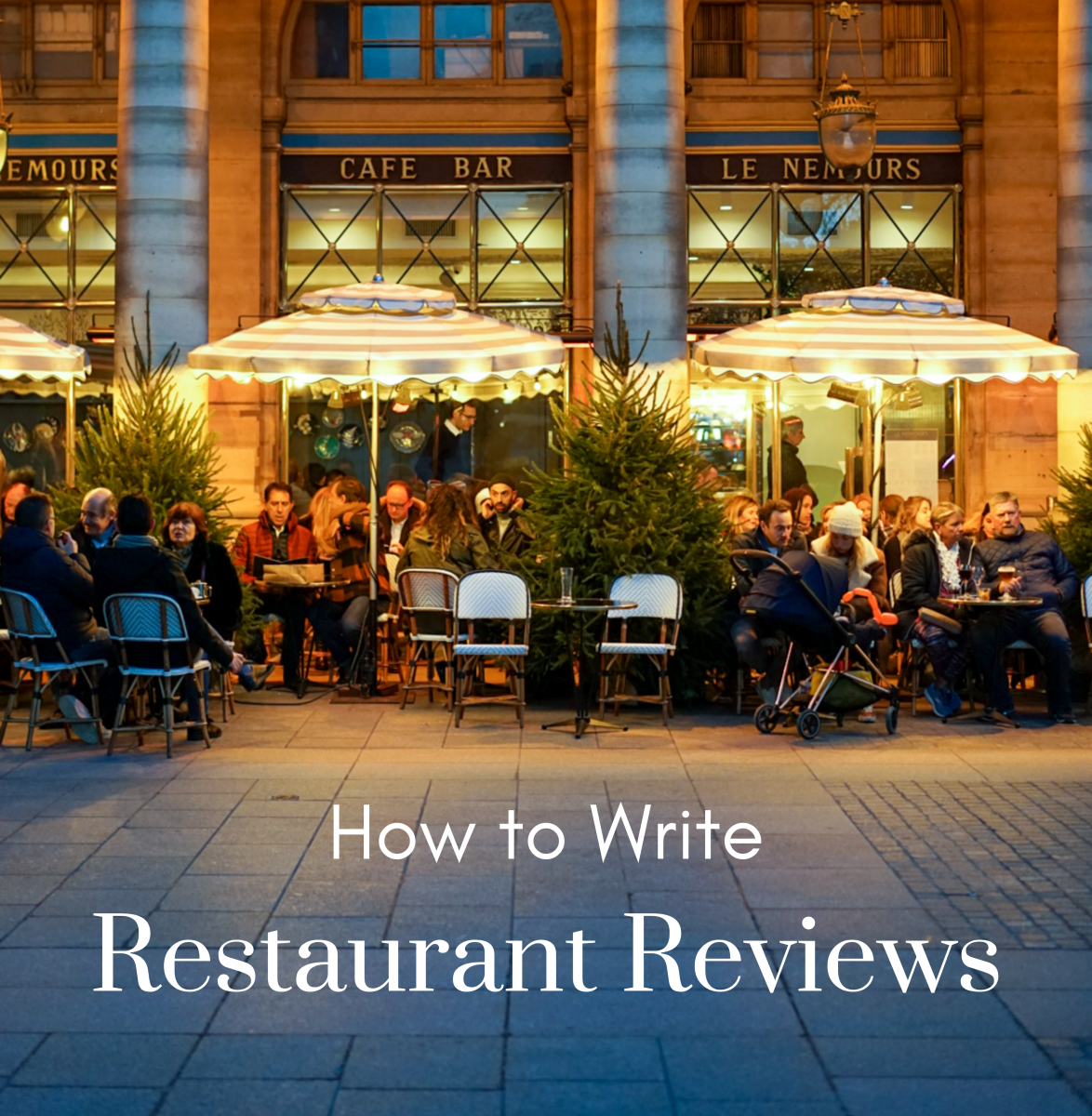 Learn how to write an effective restaurant review.