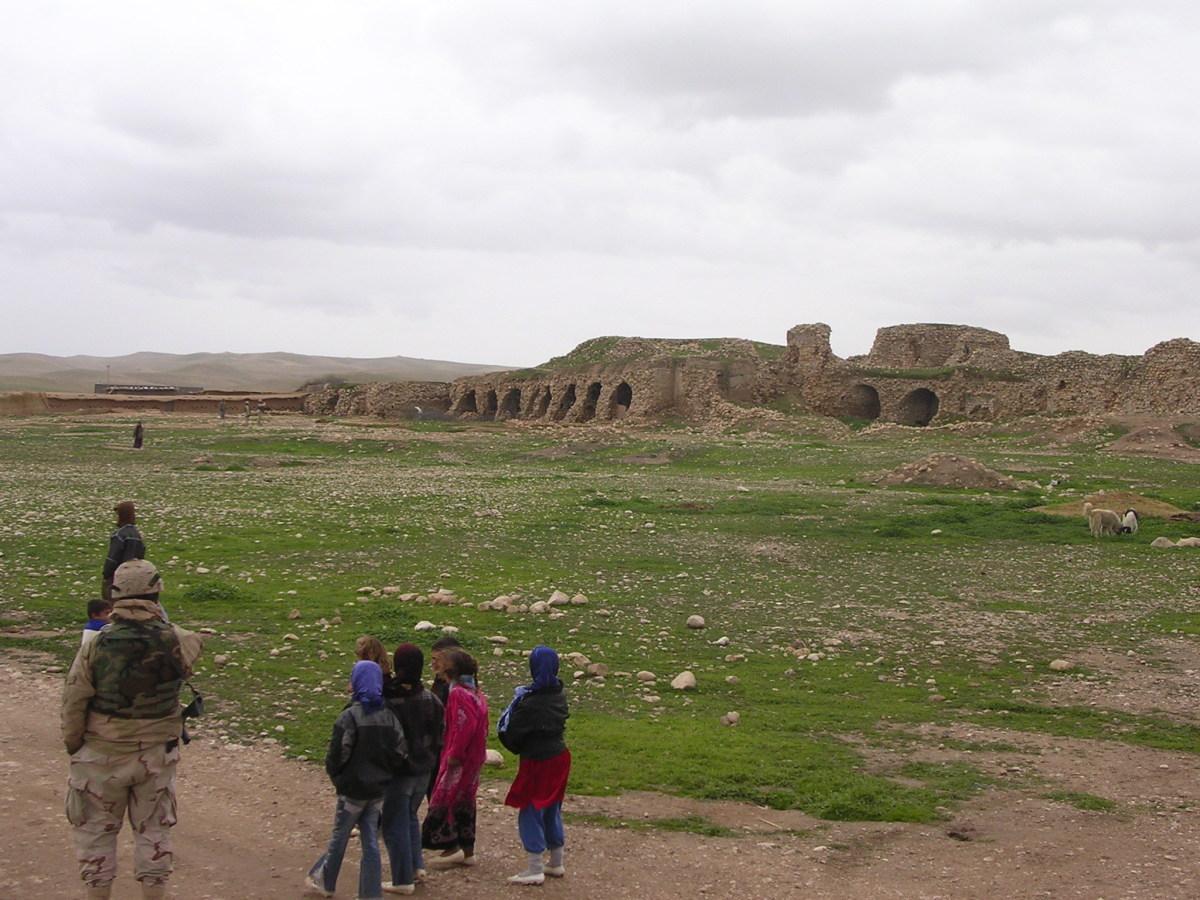 Village in north eastern Iraq.