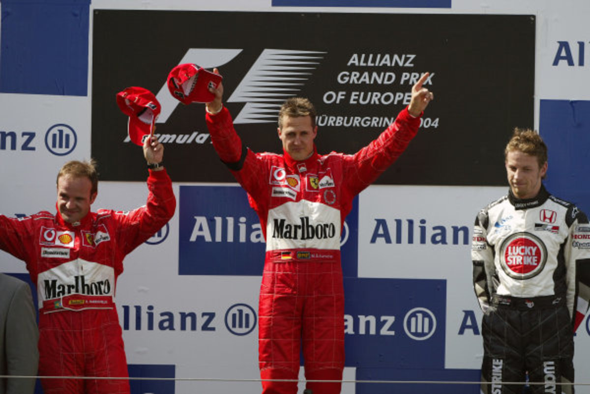 The 2004 European GP: Michael Schumacher's 76th Career Win