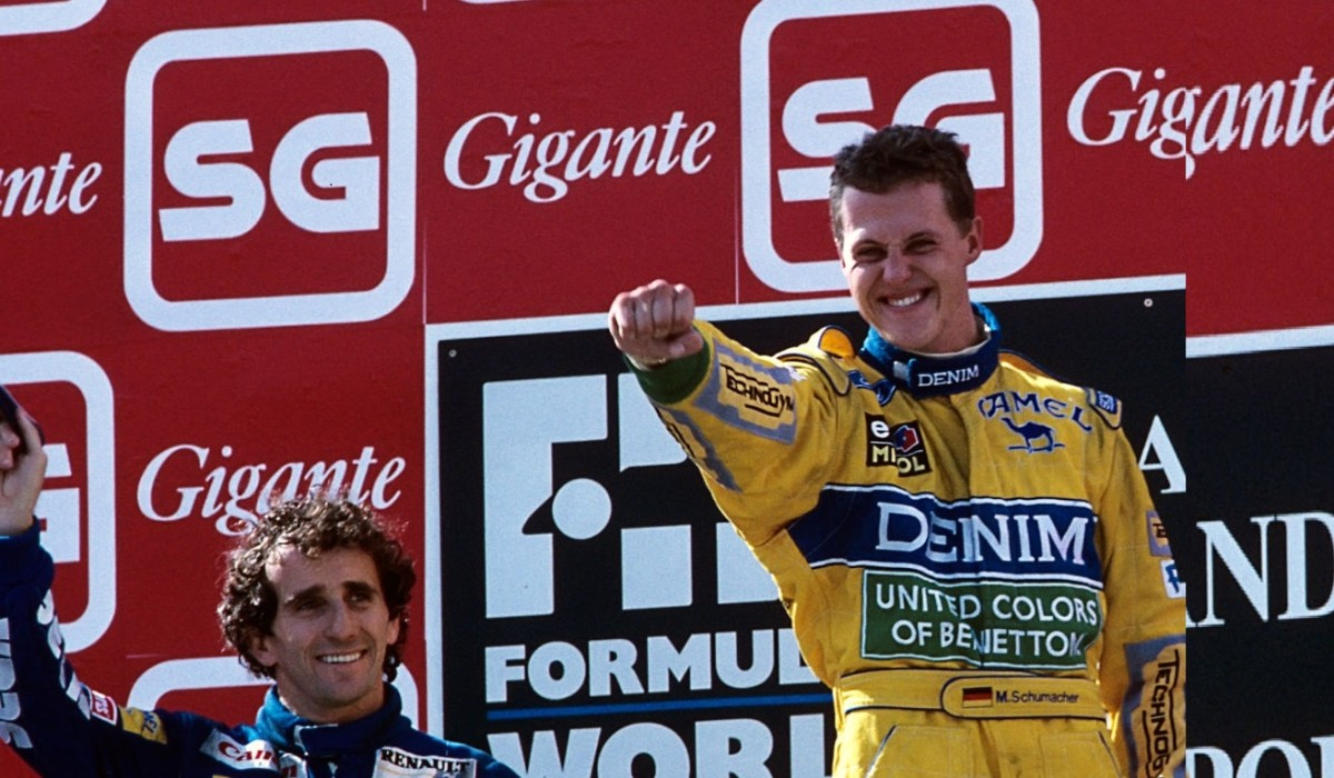 The 1993 Portuguese GP: Michael Schumacher's 2nd Career Win Head-to-Head With Prost