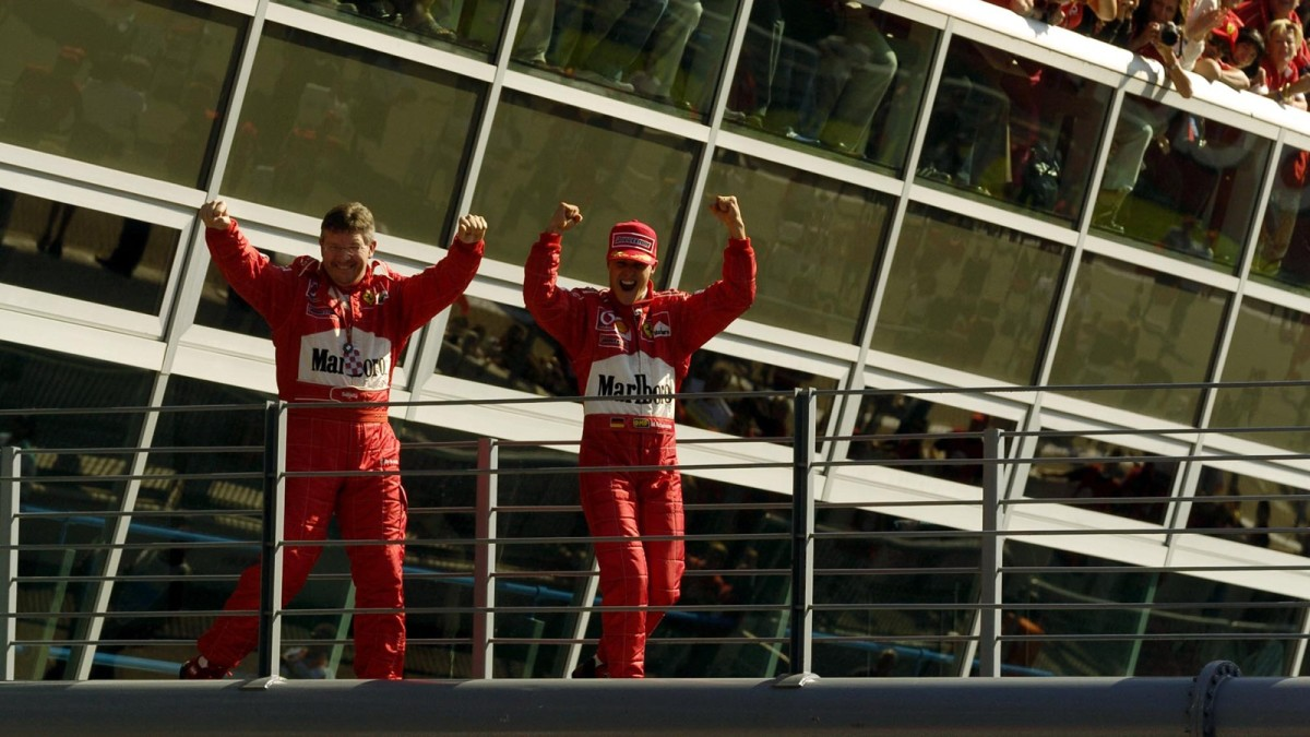 The 2003 Italian GP: Michael Schumacher's 69th Career Win