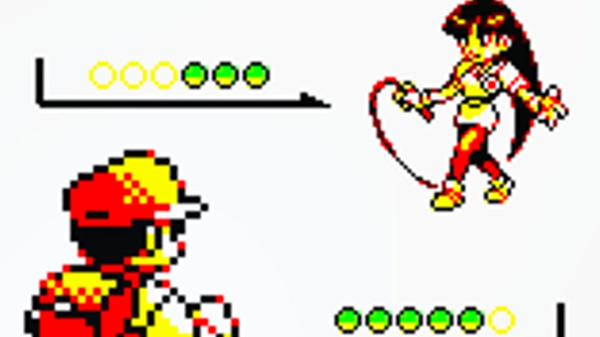 Sabrina is prepared to do unspeakable things to you in Pokemon Yellow.