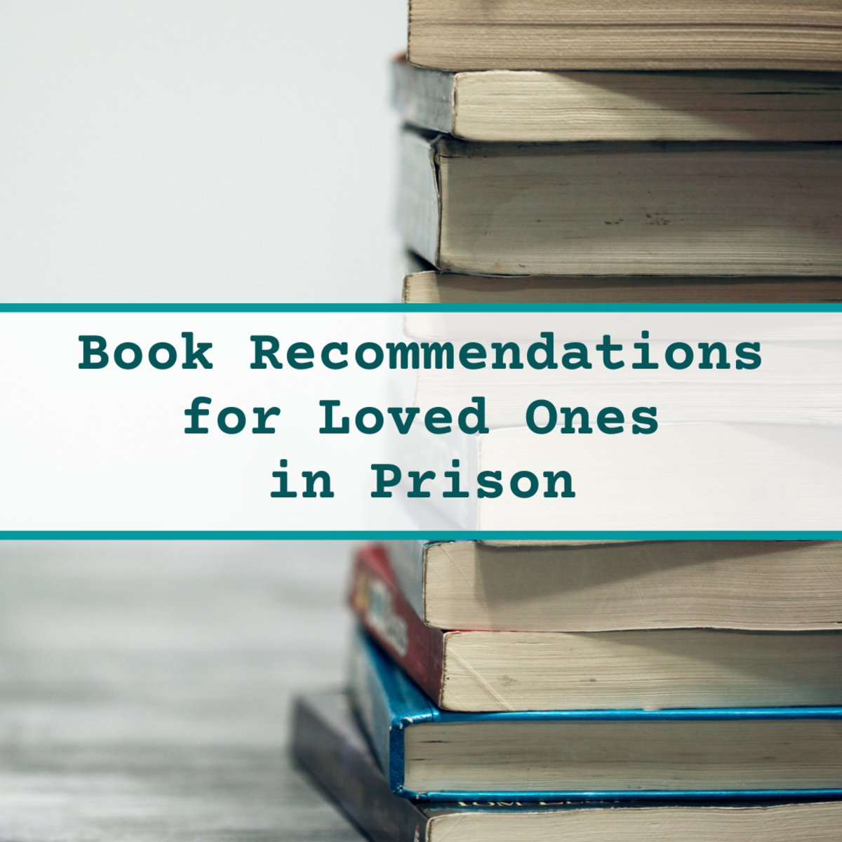 Discover some good books to send as gifts to incarcerated people.