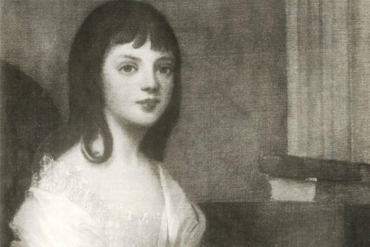 Theodosia Burr Alston at the age of eleven.