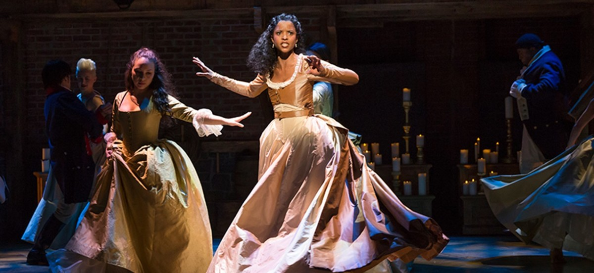 Renee Elise Goldsberry was one of the best parts of the musical. She really brought Angelica to life.