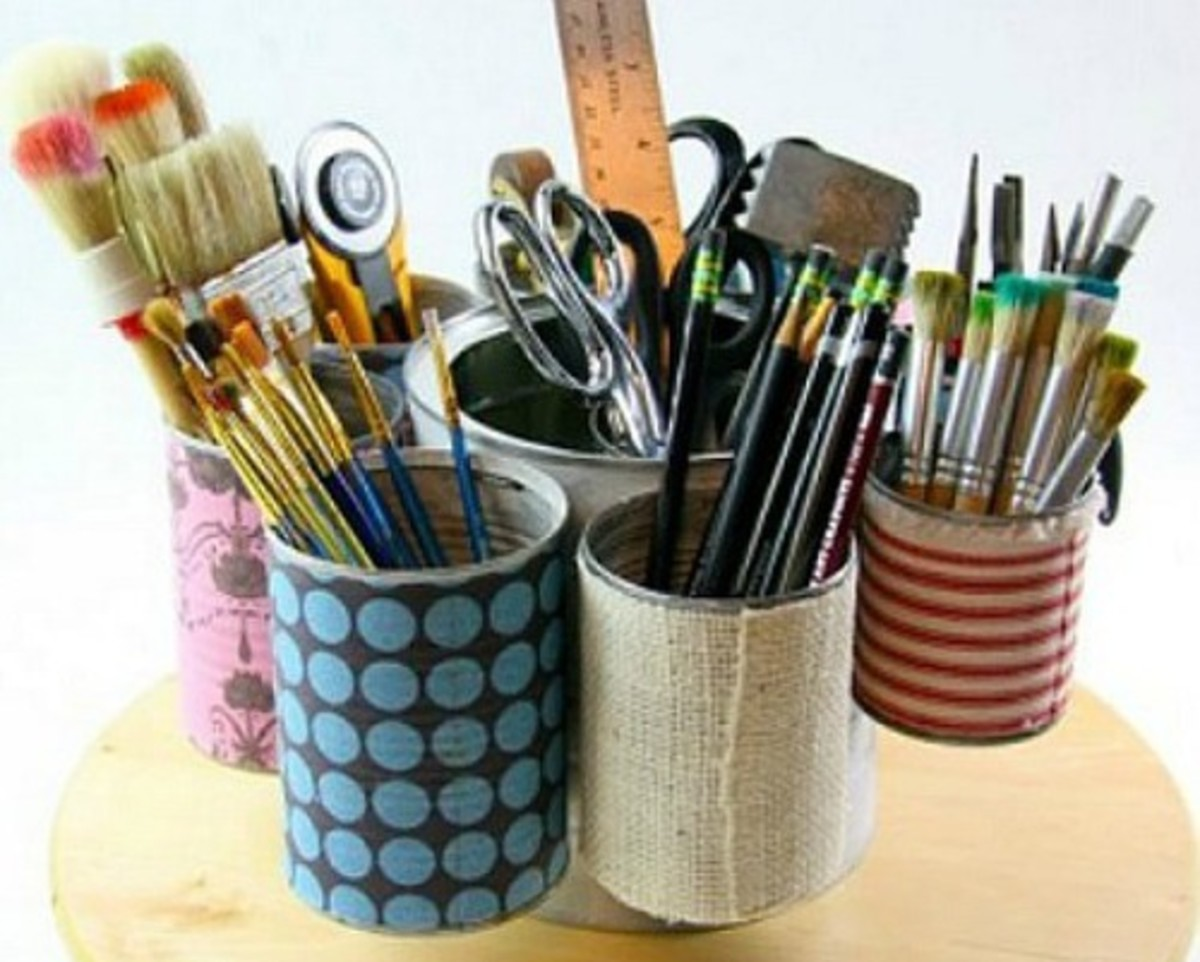 38 Cool Tin Can Craft Projects