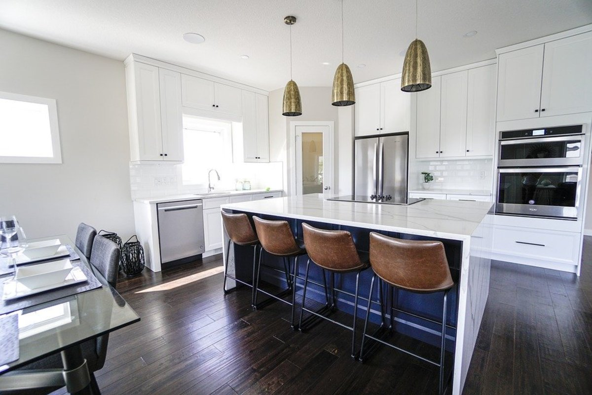 How to Change the Color of a Corian Countertop